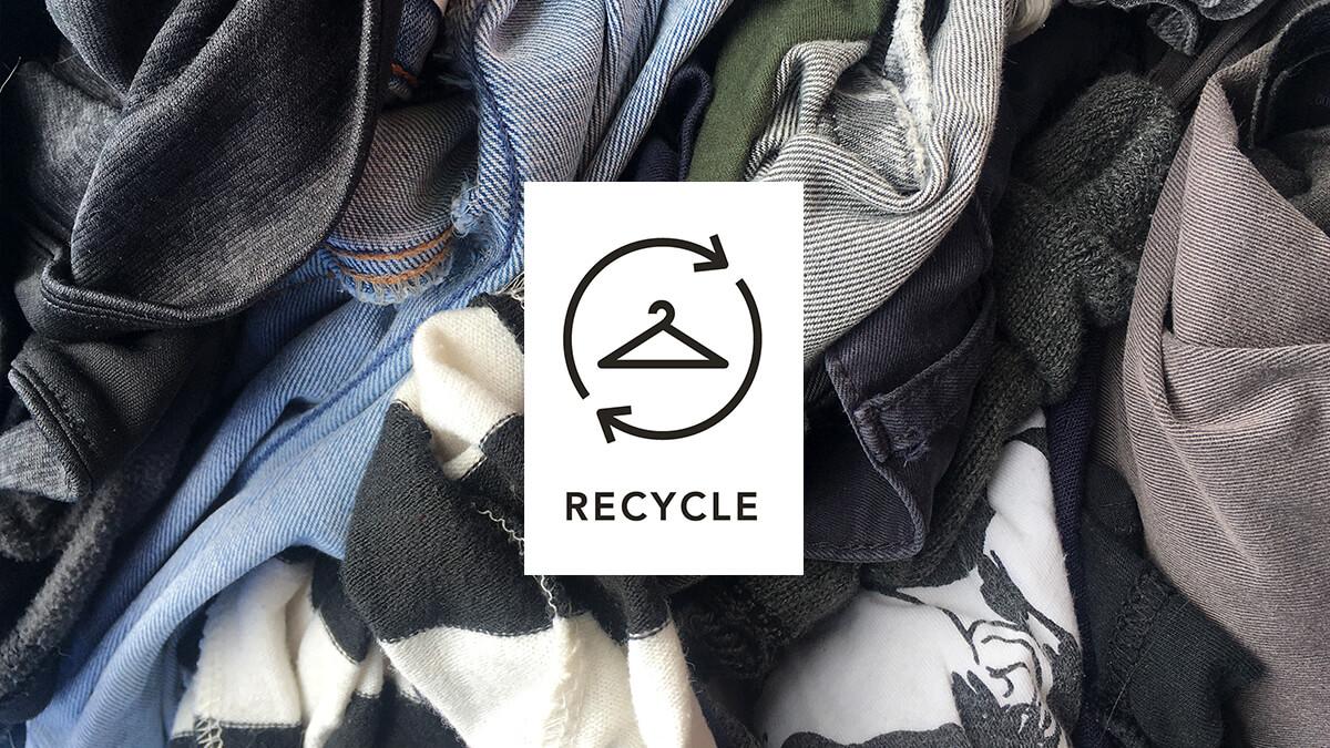 Was bedeutet RECYCLED im Zusammenhang mit meiner Kleidung?